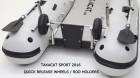 Takacat - Katamaran-Schlauchboot - Offener Heckspiegel - Räder