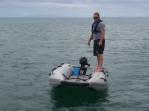 Katamaran-Schlauchboote sind sehr kippstabil