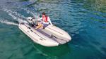 Takacat Schlauchboot mit e-propulsion Spirit 1.0 Elektroaußenborder