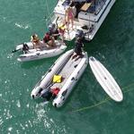 Takacat Schlauchboot T380LX + T280LG + SUP mit Schlauchschutz