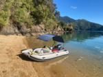 Takacat Schlauchboot mit Bimini
