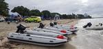 Takacat Schlauchboote als Begleitboote